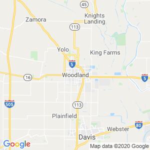 Woodland Dumpster Rentals Service Area