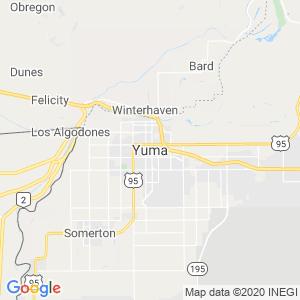 Yuma Dumpster Rentals Service Area